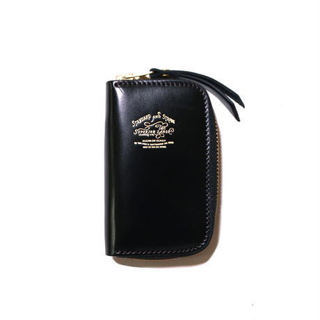 【THE SUPERIOR LABOR】cordovan zip key case