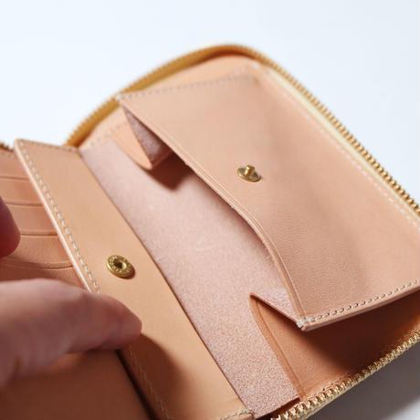 【THE SUPERIOR LABOR】cordovan zip middle wallet