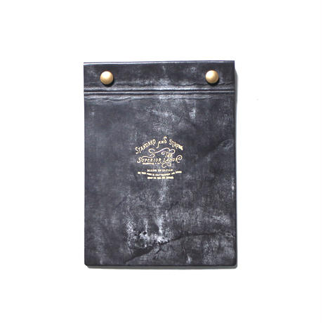 """【THE SUPERIOR LABOR】bridle leather """"Reuse""""memo cover"""