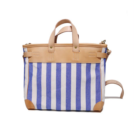 【THE SUPREIOR LABOR】stripe travel bag XS