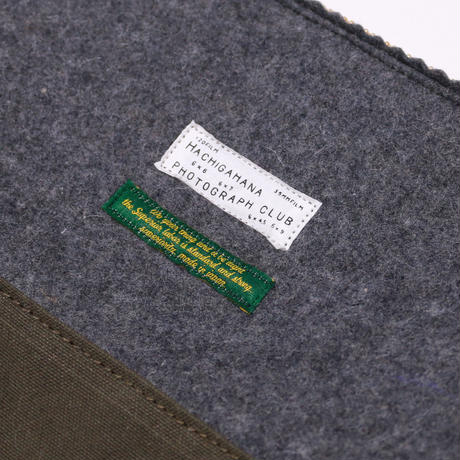 【THE SUPERIOR LABOR 】felt pouch  M