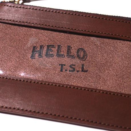 """【THE SUPERIOR LABOR】""""Hello TSL""""clear pouch S"""