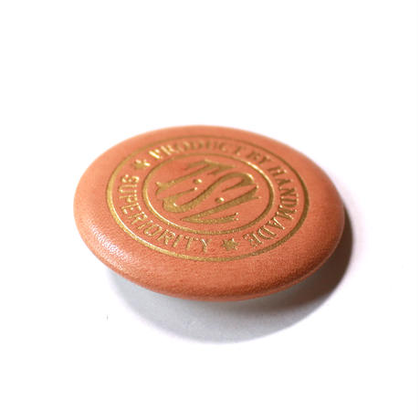【THE SUPERIOR LABOR 】leather badge A