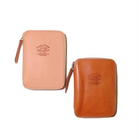 【THE SUPERIOR LABOR】saddle leather B7 zip organizer