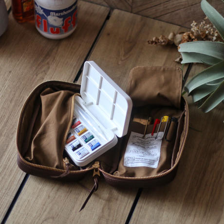 【THE SUPREIOR LABOR】utility leather case