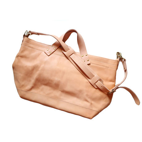 【THE SUPERIOR LABOR】engineer shoulder bag S nude leather