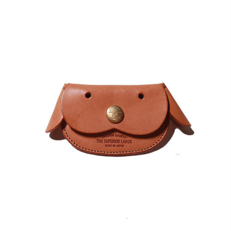 【THE SUPERIOR LABOR 】harness leather dog coin case