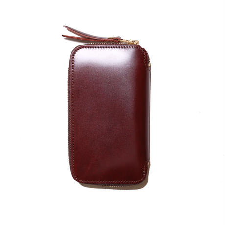 【THE SUPERIOR LABOR】cordovan zip pen case