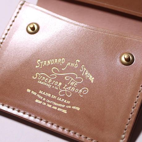 【THE SUPERIOR LABOR】cordovan coin pocket