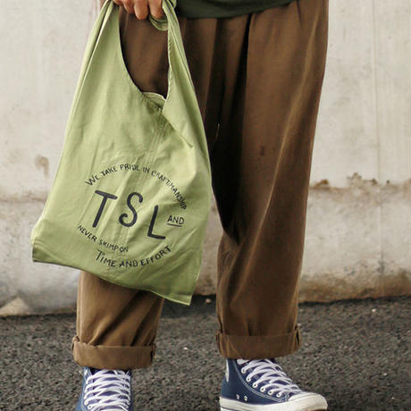 【THE SUPERIOR LABOR 】tie shoulder bag S