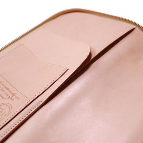 【THE SUPERIOR LABOR 】leather zip organizer