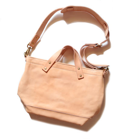 【THE SUPERIOR LABOR】engineer shoulder bag mini nude leather