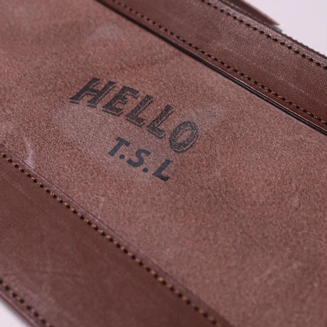"【THE SUPERIOR LABOR】""Hello TSL""clear pouch M"