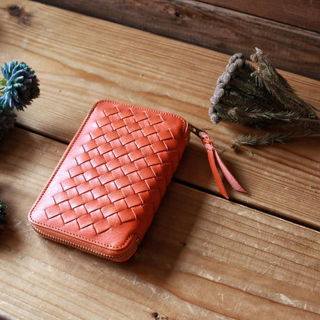 【THE SUPERIOR LABOR 】mesh zip middle wallet