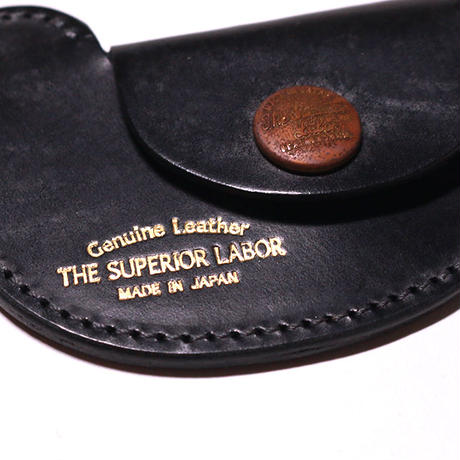 【THE SUPERIOR LABOR 】bridle bird coin case-black