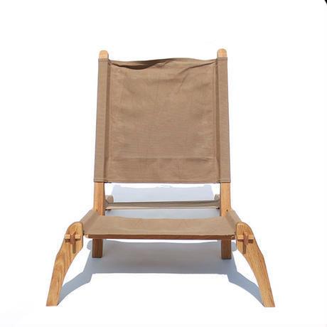 【T.S.L CUB】folding low chair/フォールディングチェア