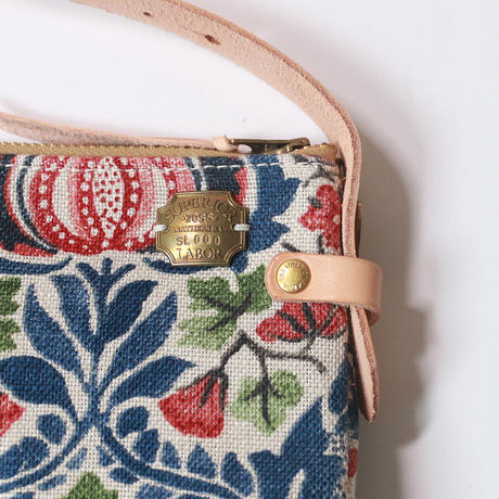 【THE SUPERIOR LABOR 】William Morris shoulder bag L