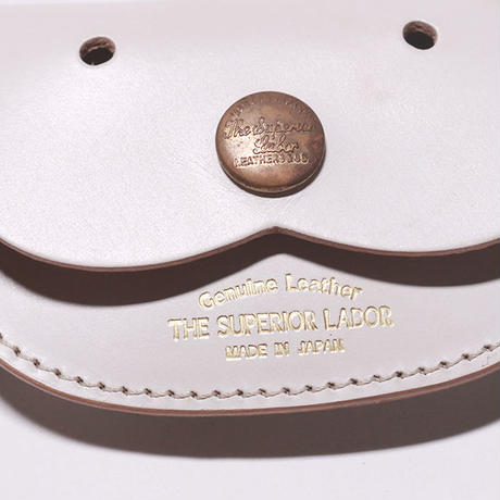 【THE SUPERIOR LABOR 】 bridle dog coin case-white