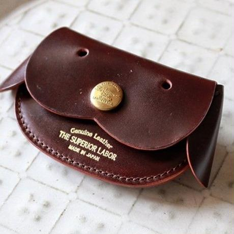 【THE SUPERIOR LABOR 】cordovan dog coin case