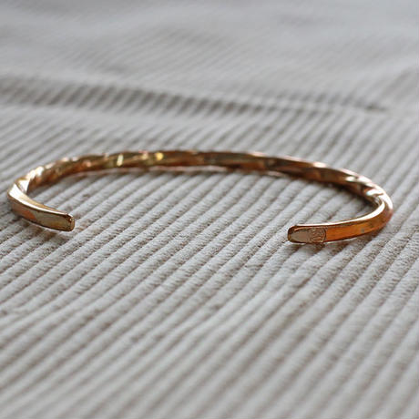 【THE SUPERIOR LABOR 】narrow twist bangle