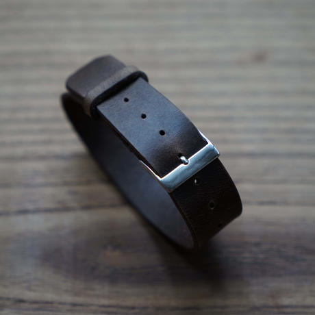 HORWEEN LEATHER BELT (CHROME EXCEL LEATHER)