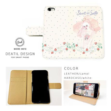 NEW! 手帳型スマートフォン ケース SWEET&SALTY