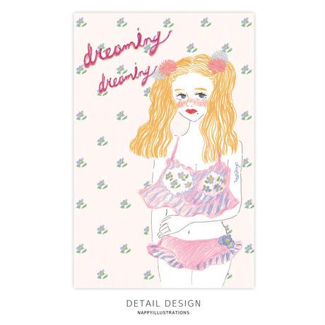 ポストカード / dreaming girl
