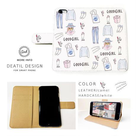 NEW! 手帳型スマートフォン ケース GOODGIRL