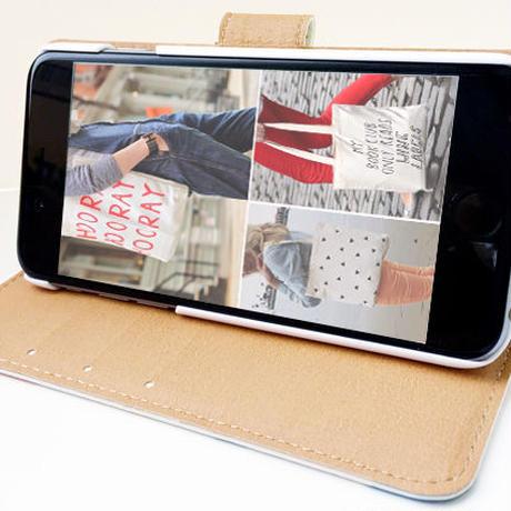 手帳型スマートフォン ケース DAILY POETRY