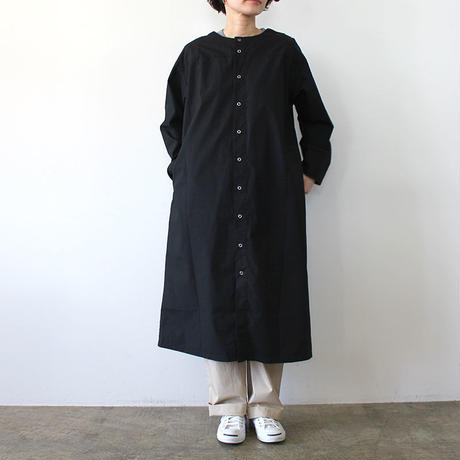 GERMAN MEDICAL SMOCK_BLACK