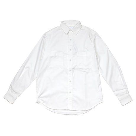 NPBL_WORK SHIRT_WHITE