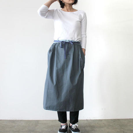 HARVEST 2WAY APRON_BLUE