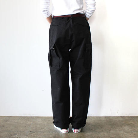 ARMY WORK PANTS_BLACK