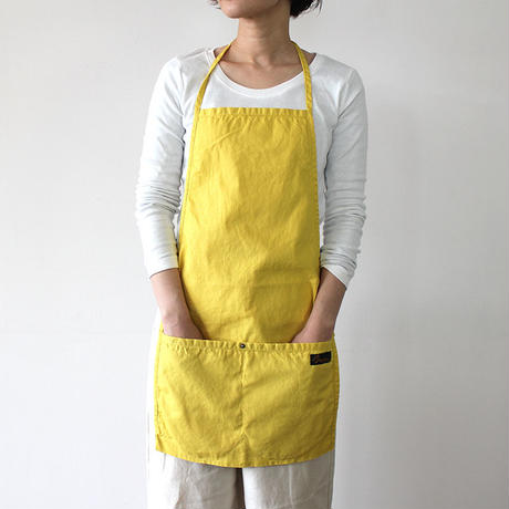 HALF APRON_YELLOW