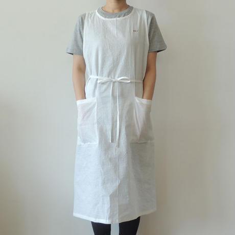 【店舗&NET通販限定】DISH WASHERS DRESS_WHITE