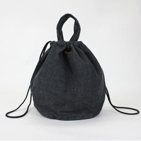 【限定】PATIENTS BAG  DENIM _BLACK