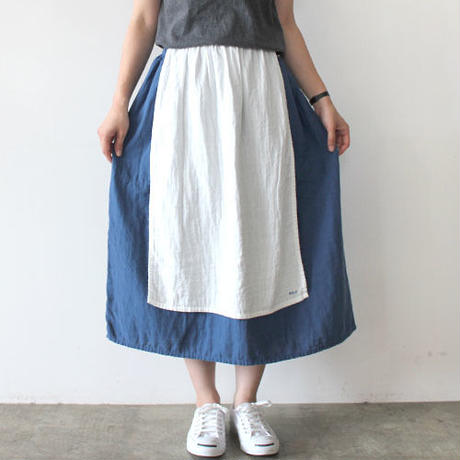 【直営店限定】HARVEST SKIRT_SMOKY BLUE