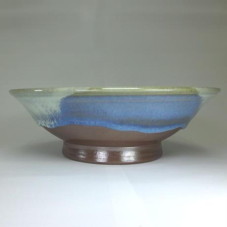 八寸深皿(三点白釉)
