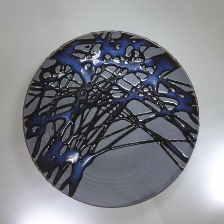紋様皿(9寸)