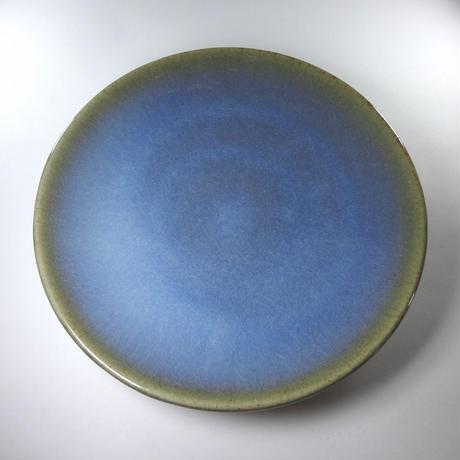 六寸銘々皿(青)