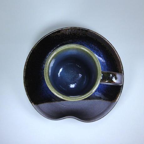 切立コーヒー碗皿