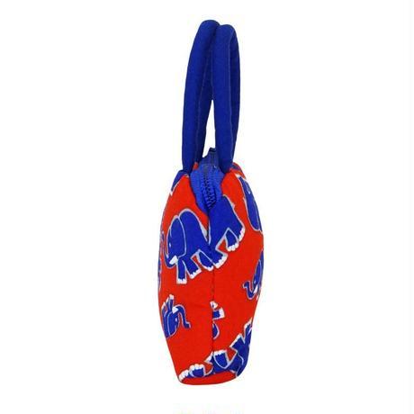 ナラヤ NaRaYa タイ かわいい手のひらサイズ ミニバッグ 化粧ポーチ・レッドエレファント NB-255 送料無料
