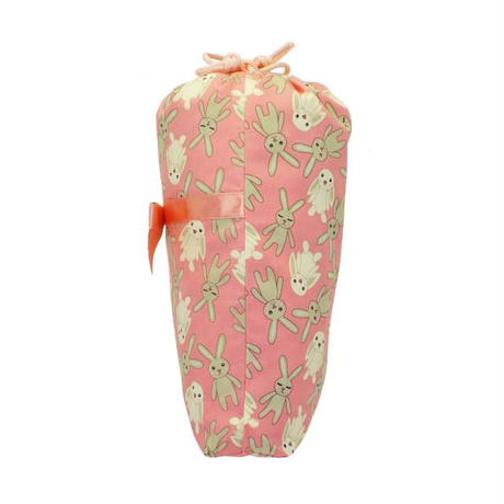 ナラヤ タイ NaRaYa 巾着袋 化粧ポーチ ランジェリーポーチ L ・ハッピーラビット   NB-258/M 送料無料