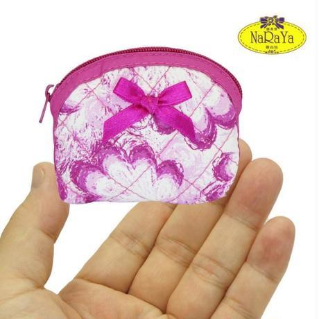 ナラヤ NaRaYa タイ かわいい手のひらサイズ プチケース 化粧ポーチ ・フローラル   NB-309 送料無料