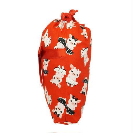ナラヤ タイ NaRaYa 巾着袋 化粧ポーチ 巾着ポーチ S ・ダンシングピッグ  NB-258/S  送料無料