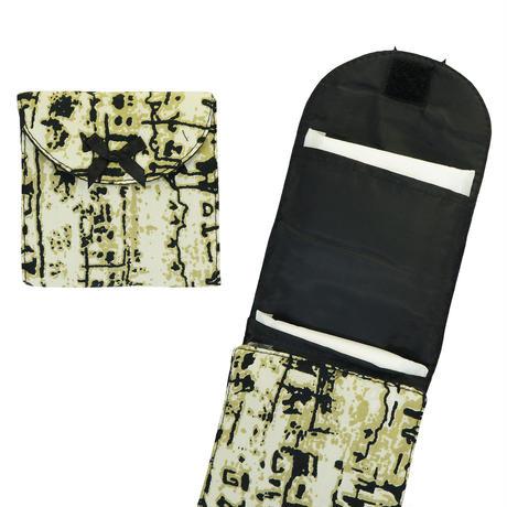 ナラヤ(NaRaYa) 携帯用 コンパクト 収納 サニタリーケース( 三つ折りタイプ 生理用品 ナプキンポーチ )・クラッシック(NB-344A)