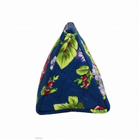 ナラヤ NaRaYa  化粧ポーチ 三角コスメポーチ 大容量タイプ ・イングリッシュガーデン  送料無料