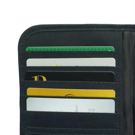 ナラヤ タイ NaRaYa 長財布 レディース 二つ折り財布 ファスナー小銭入れ付・ペイントドット  NB-290B 送料無料