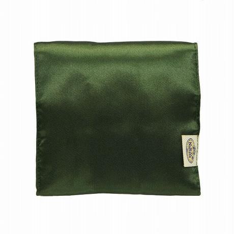 ナラヤ NaRaYa 携帯用 コンパクト 収納 サニタリーケース( 三つ折りタイプ 生理用品 ナプキンポーチ )・サテン(フォレスト) NBS-344A