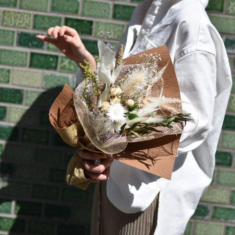 【Mother's day5/12着】dry flower bouquet(ドライフラワーブーケ)
